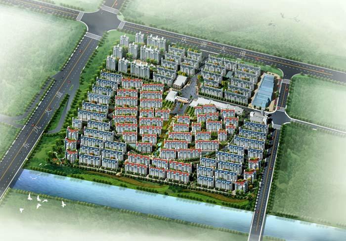 宜兴东郊花园(280000㎡)